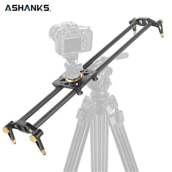 """Freeshipping 24""""/60cm DSLR Camera Track Dolly Slider Video Stabilization Rail System with 33lb/15kg Load Capacity for Photography"""