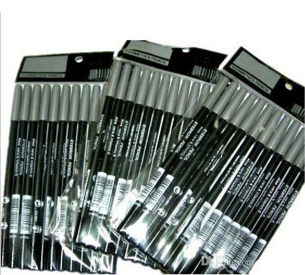 top popular HOT Eyeliner eyebrow Liner Pencil Black   Brown EYE   LIP Liner Pencil Aloe & Vitamin E1.6g DHL Free shipping 2021