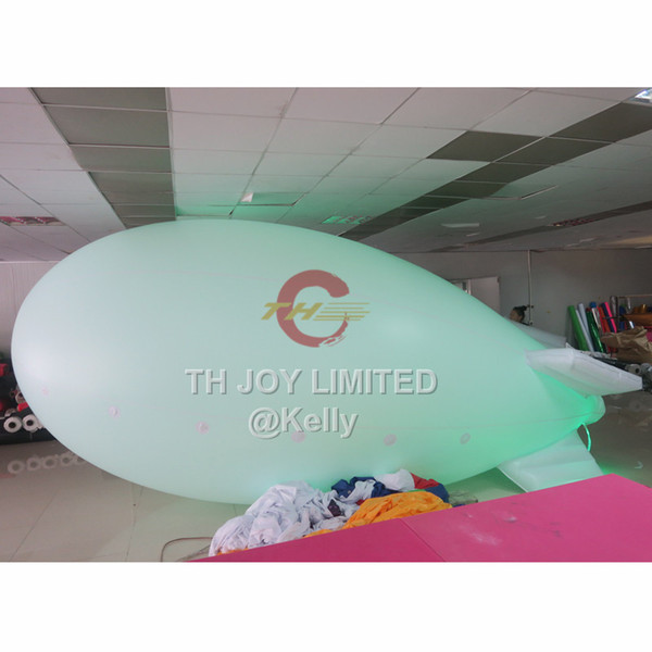 4m 5m 6m 10m big helium blimp balloon for outdoor advertising logo printing inflatable balloon spaceship customized advertising inflatables