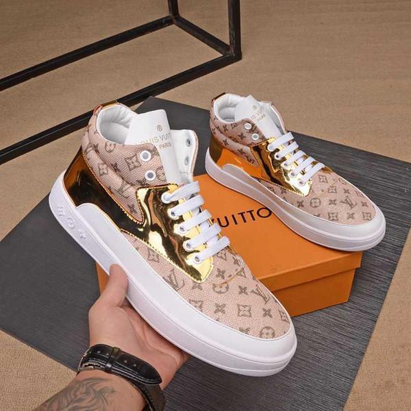 2019Designer der Männer Luxus Schuhe Sneaker SneakersLVLouisVuitton-Männer Business Casual Schuhe 38-45 1335-3
