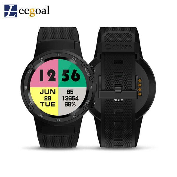 THOR 4 4G LTE Wifi GPS Smart Watch Phone Android7.0 MTK6737 Quad Core 1GB+16GB 5.0MP 580mAh 4G/3G/2G Call Men SmartWatch