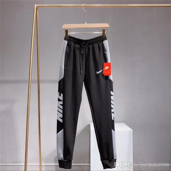 2019 2020 Men PM Sweatpants Fitness Side Stripe Men'S Sportswear Joggers Pants Cotton New Male Gyms Trousers Pantalones Hombre 1204 From Zhan2018,