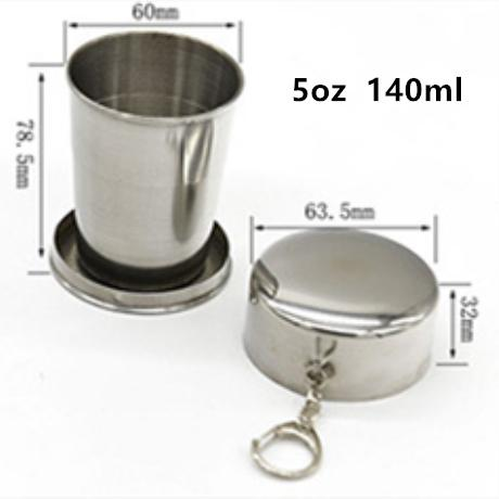 5oz 140ml collapsible cup