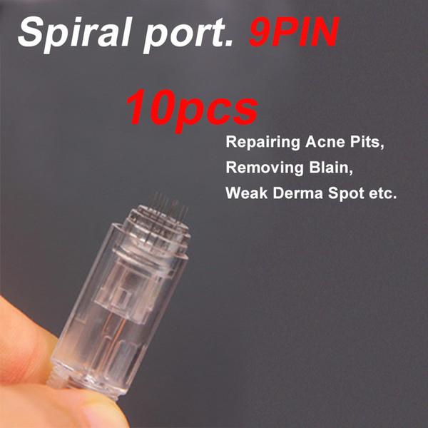 10 Stück Spirale 9Pin