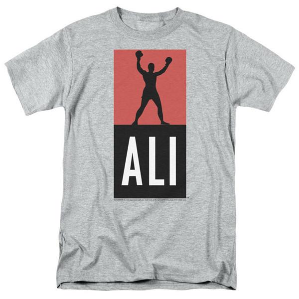 Muhammad Ali Logo Adult T-Shirt - Offiziell lizenziertes klassisches Ali Boxing Shirt