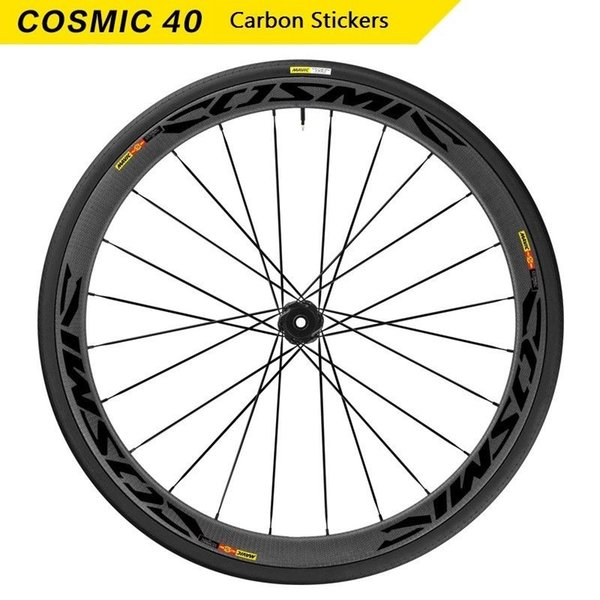 Wheels Rim Stickers for Road Bike Bicycle MAVIC COSMIC Carbon CCU 40 Cycling Decals Water Proof #288047