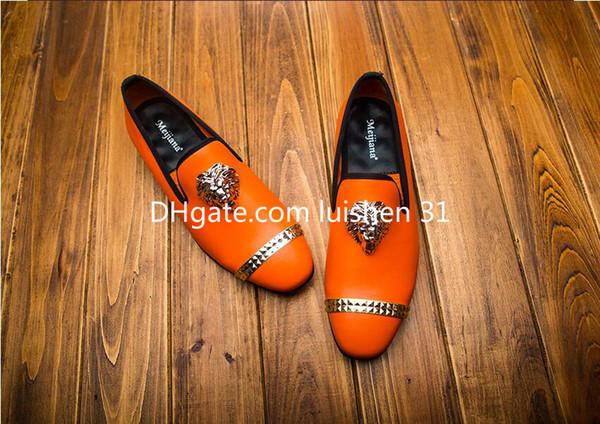 2019 designer mocassini eleganti da uomo scarpe formali da uomo scarpe oxford uomo party Party Weeding Dress scarpa U41