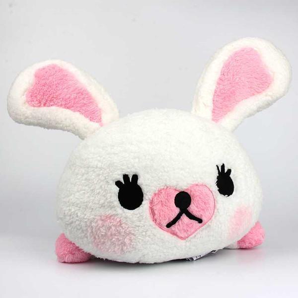 38 CM Beanie Boos coelho brinquedos de pelúcia de Algodão Macio e Confortável Coelho Branco Dormir Boneca Menina amigo da criança presente da festa de aniversário