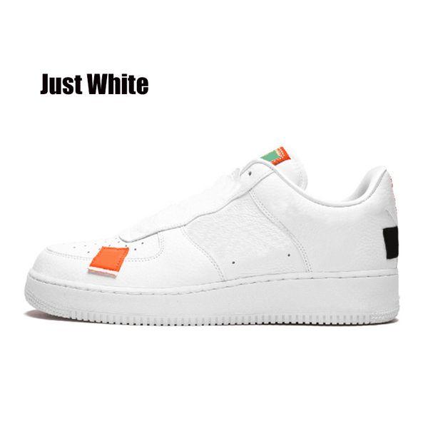 juste blanc