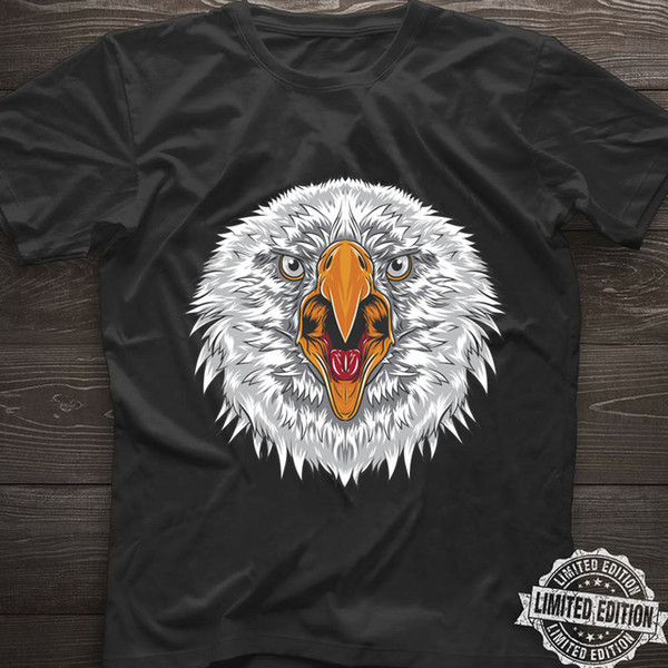 Eagle Head T Shirt Eagles Fans Lovers Black Cotton Men S-6XL US Supplier Funny free shipping Unisex Casual Tshirt top