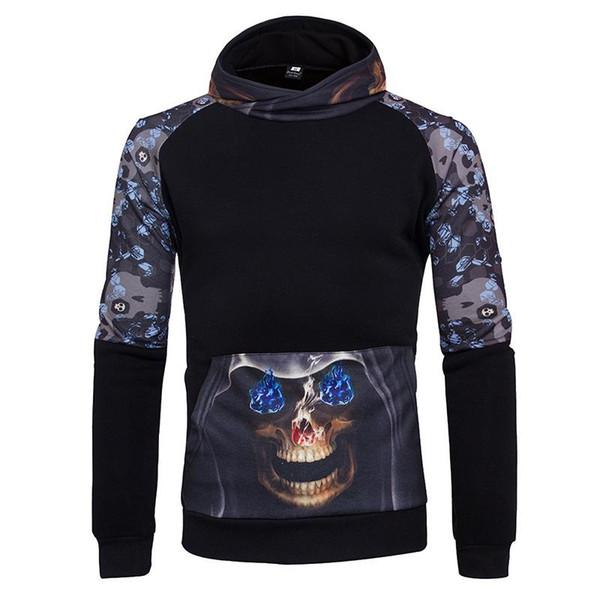 Dijital baskı tarafında hoodies beyzbol giyim kollu kapşonlu hırka uzun kollu spor ceket
