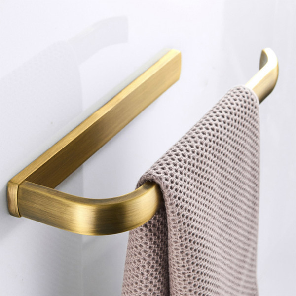 antique towel ring bronze black rose gold towel holder nickel brass chrome bathroom bar holder white big paper roll
