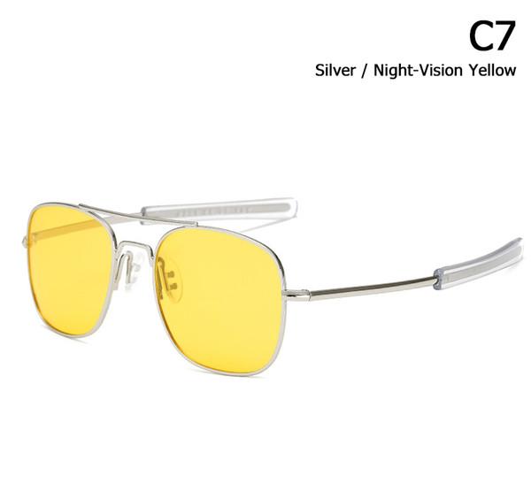 C7 amarillo plateado
