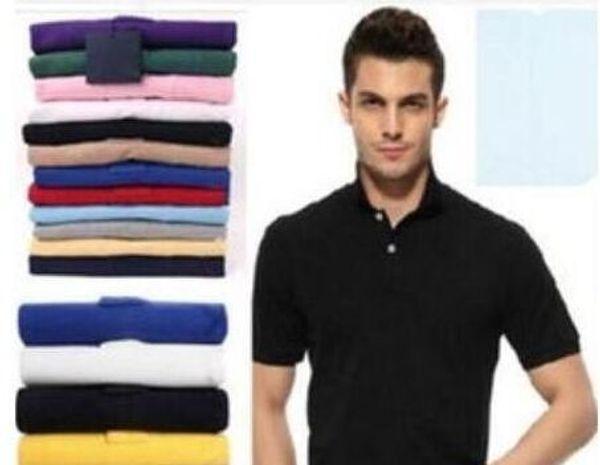Nouveau été Hommes Top qualité Crocodile Broderie Polos manches courtes en coton fraîches Slim Fit Casual Shirts pour hommes d'affaires