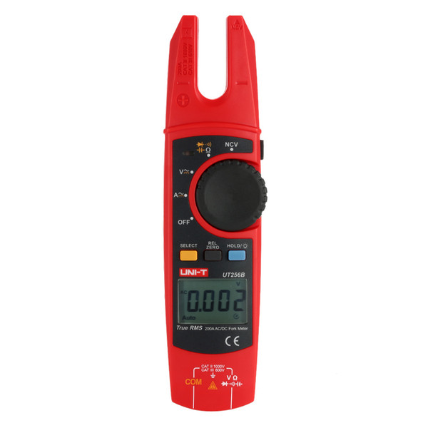 UNI-T UT256B True RMS Digital Fork Meter Clamp Multimeter multimetros multimetr multitester medidor dijital multimetre digitale