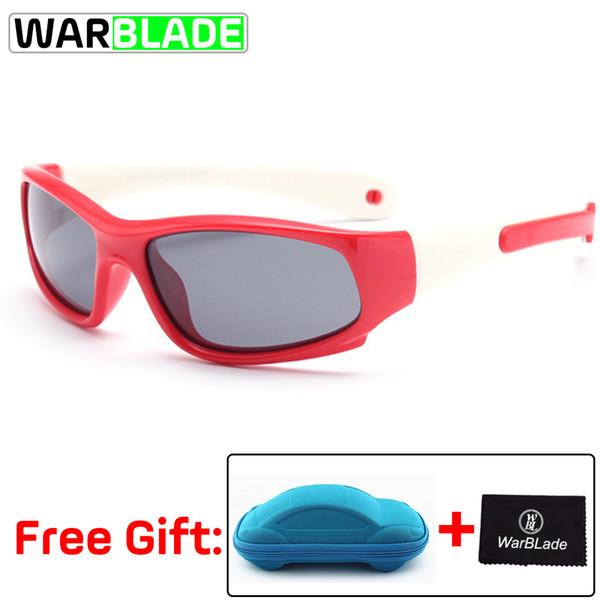 Silikon Zinciri Çocuk Güvenliği Güneş Gözlükleri Erkek Kız Spor Bisiklet Gözlükler Okülo Ciclismo Fietsbril ile Çocuk Polarize Güneş Gözlüğü