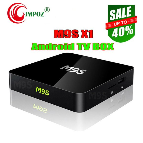 M9S X1 Android 6.0 TV BOX Smart Mini PC Amlogic S905X Quad Core H.265 Media Player 2.4GHz Wifi HDMI 2.0A Game 1080P Better MXQ PRO