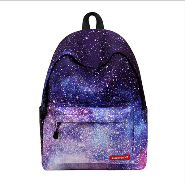New style children backpack 5 style Star backpack Polyester baby girl stylish school bag women bags
