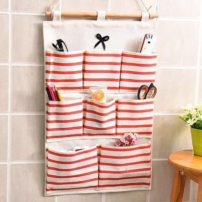 Racks Wall Pockets Organizer Linen Closet Children Room Organizer Pouch Toys Books Cosmetic Sundries Pocket Hanging