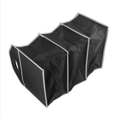2019 Convenience Supper fashion free shipping wholesales Car Interior Storage Box Foldable Organiser Multi-Pocket Auto Travel Black