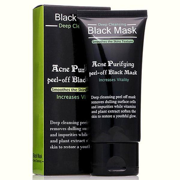 Face Care Suction Black Mask Facial Mask Nose Blackhead Remover Peeling Peel Off Black Head Acne Treatments New R0200