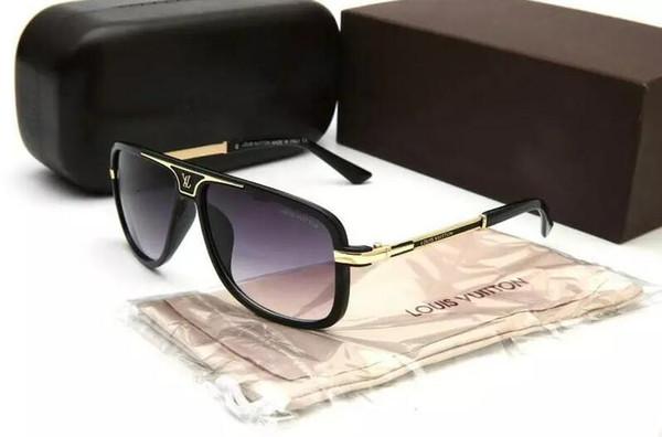 Gafas de sol de hombre gafas de sol de diseño para hombre gafas de sol para mujer gafas de sol de gran tamaño marco cuadrado exterior fresco hombres gafas 77863