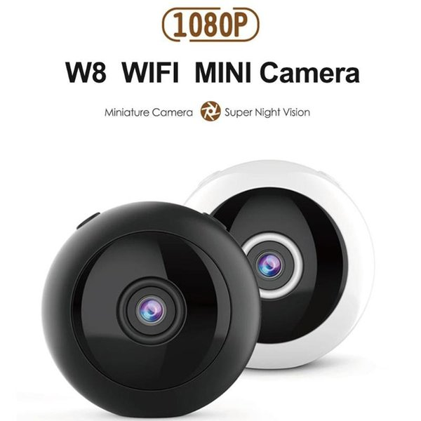 Mini Cam WIFI IP Camera W8 FULL HD 1080P IR Night Vision video Recorder wireless remote home security surveillance Camcorder