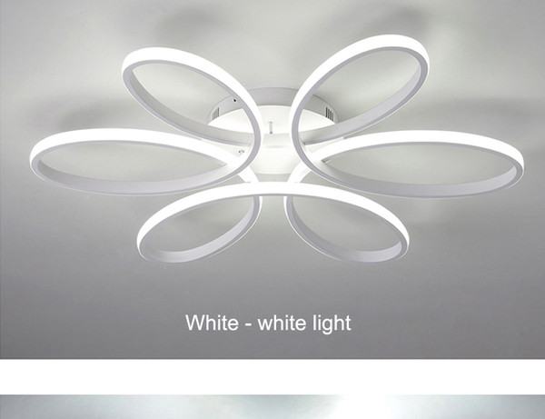 Nordic led ceiling lamp creative personality living room lamp modern atmosphere bedroom lamp warm romantic lamps and lanterns