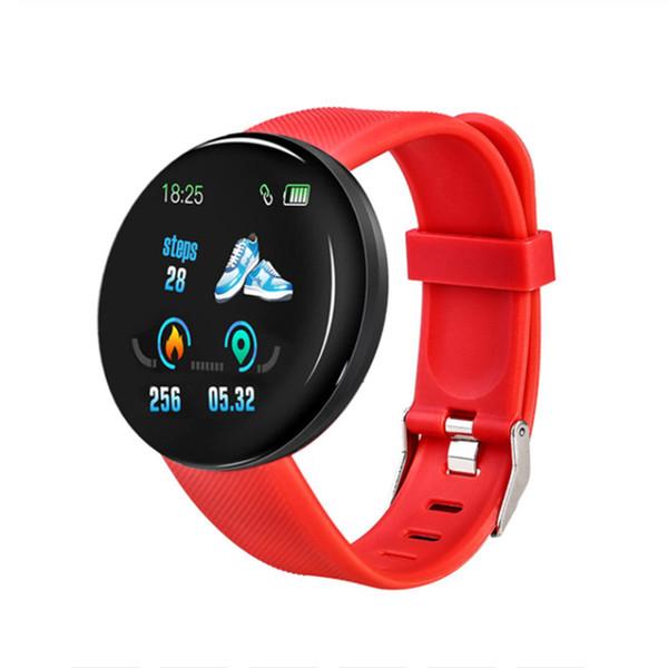 D18 Smart Watch Red