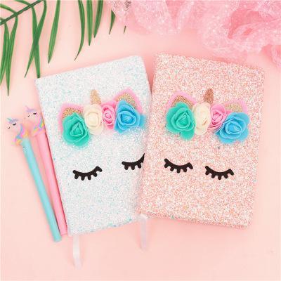 Neue mischformen Kawaii Flamingo Einhorn Notebook Nette Reizende rosa mädchen Tagebuch Planer Notizblock Notizblock für Kinder Geschenk Korean Schreibwaren