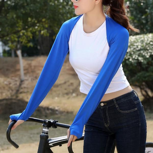 Manchon de bras pour protection solaire Protège-bras Imprimé camouflage Half Finger Golf Cycling Longs Gants Running Sleeves