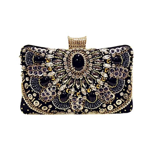 Brand Women Evening Bag 2019 Party Handmade Banquet Bag For Women Girls Wedding Clutches Handbag Shoulder Bolsas Mujer #G8