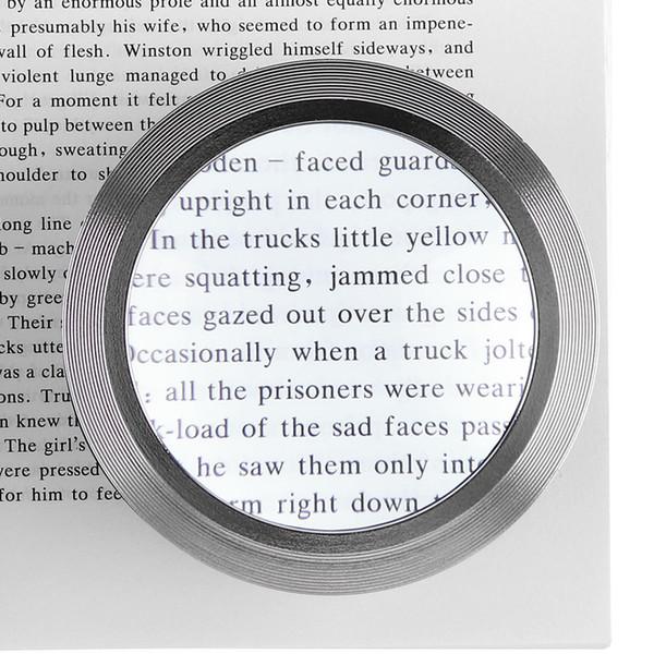 5X Cylindre de bureau K9 Loupe Lentille Outil avec Loupe avec 3 LED pour Regarder Antique / Lecture / Bijoux Identification