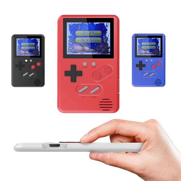 Ультратонкий портативный игровой автомат Мини-игры Консоль Портативный классический видеоигр 2,4-дюймовый цветной ЖК-дисплей 168 игр лучший подарок