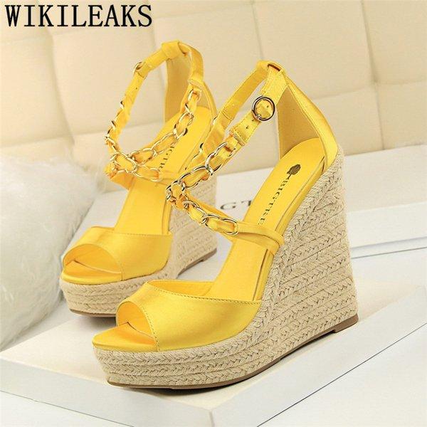 Women Comfy Platform Sandal Shoes Wedge
