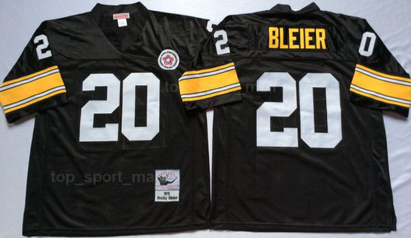 new style 20c7b da9e2 2019 Vintage Football 58 Jack Lambert Jersey Pittsburgh Steelers 31 Donnie  Shell 26 Rod Woodson 23 Mike Wagner 33 Merril Hoge 20 Rocky Bleier From ...