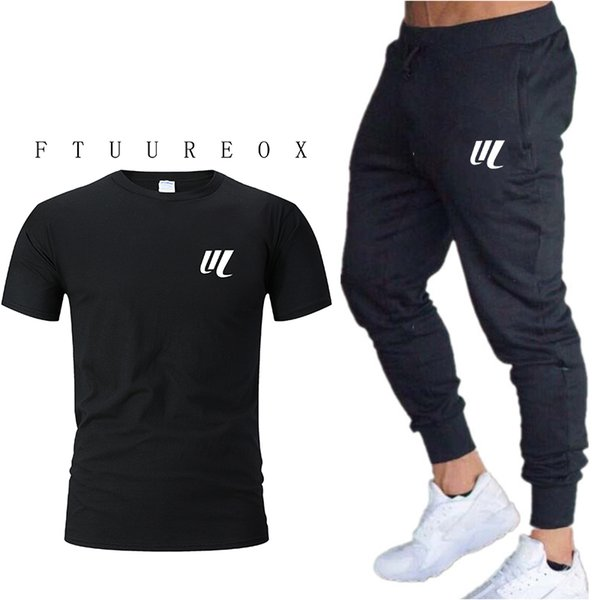 High Quality Jogger Pants Men Fitness Bodybuilding Gyms Pants For Runners gyms winer Brand Clothing Sweat Trousers+T