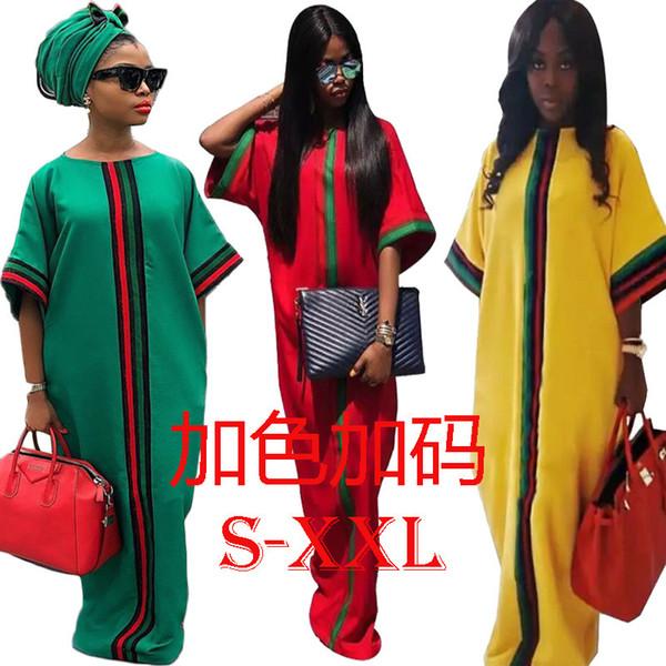 hotHm6033 Four Seasons Commute Tessuto a maglia con cuciture impeccabili Large Code Easy Dress