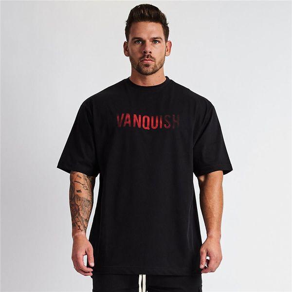 Loose Sport T Shirt Men Summer Gym Shirts Men Running Fitness Tshirt Quick Dry Training Shirts Crossfit T-Shirt Sports Top Tees