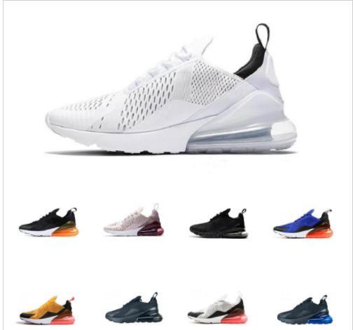 2020 Hot 27C mens chaussures de marque de haute qualité de l'air Chaussures Hommes Flair Triple Noir Entraîneur Femmes Taille 5,5-11