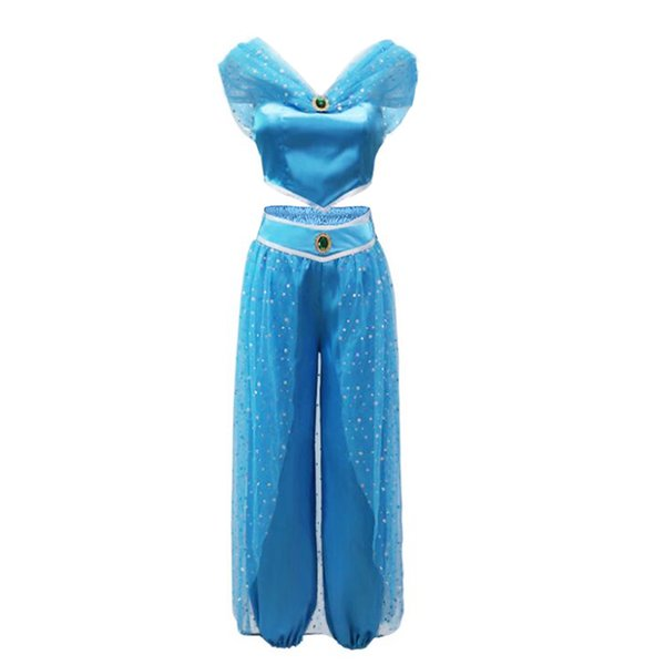 8 Blue Jasmine dress