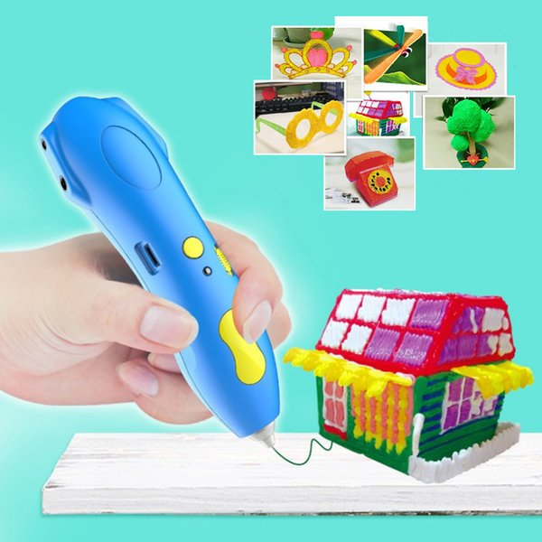 3D Printing Pen 3D Pens Pencil Drawing Pen Stift PCL Filament for Kid Child Education Hobbies Graffiti Toys Birthday Gifts