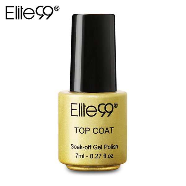 Elite99 Private Label Gel Nails Manicure Tool One Top Coat Nail Art Manicure Nails Gel Professional Kit Cured By LED Lamp 7ml Free Shipping