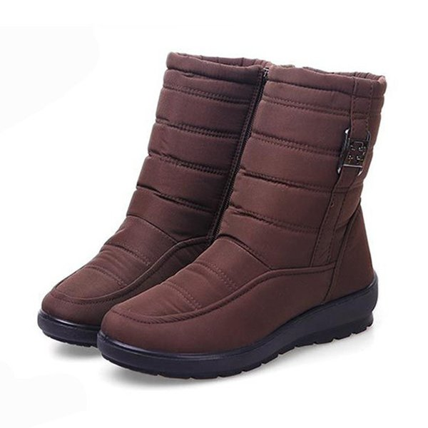 Shoe Woman Increase Keep Warm Winter Middle Shoes Student Short Boots