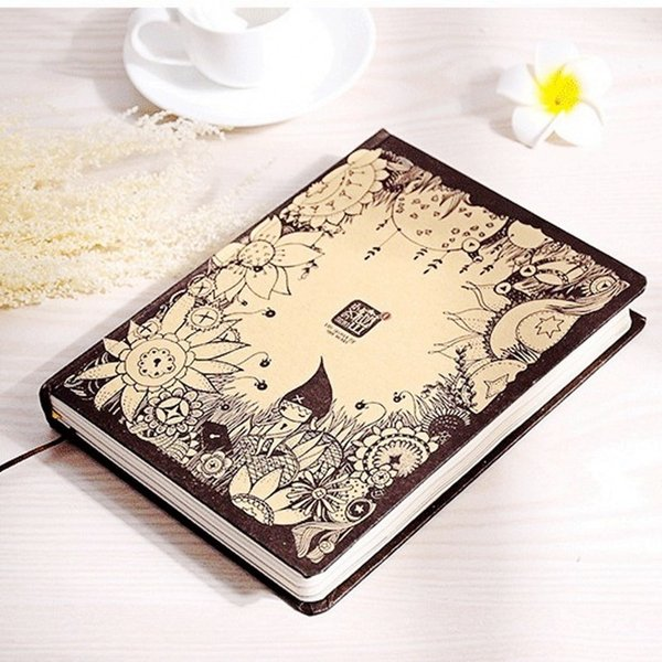 Sketchbook Creative Cute X's Secret Diary Notebook Kawaii Hardcover Vintage Color Pages Blank Filofax Travelers School Notepad