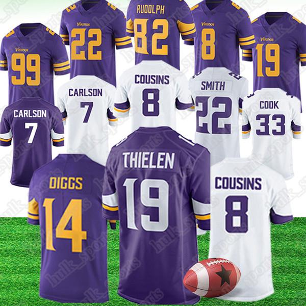 c7676b52958 Minnesota 19 Adam Thielen Vikings jerseys 14 Stefon Diggs 21 Mike Hughes  jerseys 33 Dalvin Cook