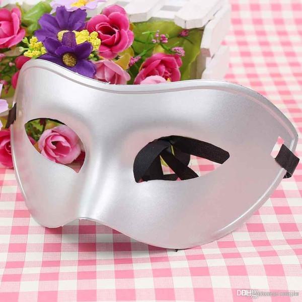 Mezza maschera classica per uomo in maschera da donna per ballo in costume all'ingrosso
