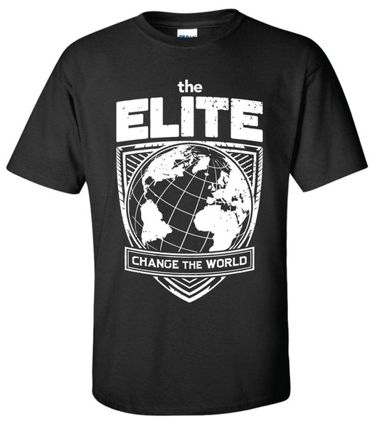 ELITE Change the World T-shirt -XS-5XL Kenny Omega Young Bucks AEW All Wrestling Funny free shipping Unisex Tshirt