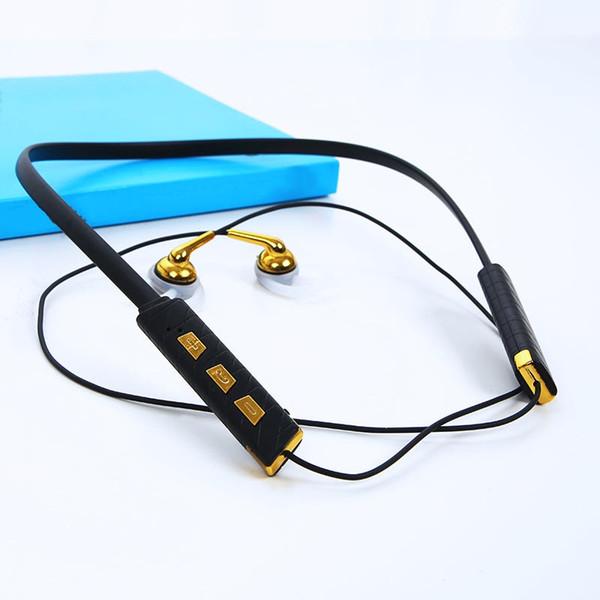 Sports Neckband Fones De Ouvido Intra-auriculares Leve Sem Fio Bluetooth Fones De Ouvido com Alta Fidelidade fone de Ouvido para Smartphone com Caixa De Varejo