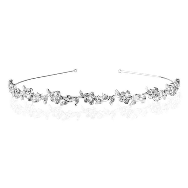 bridal crystal tiaras and crowns gem luxury headband hairbands wedding hair accessories hair ornaments for women jewelry